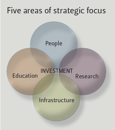 Five areas of strategic focus