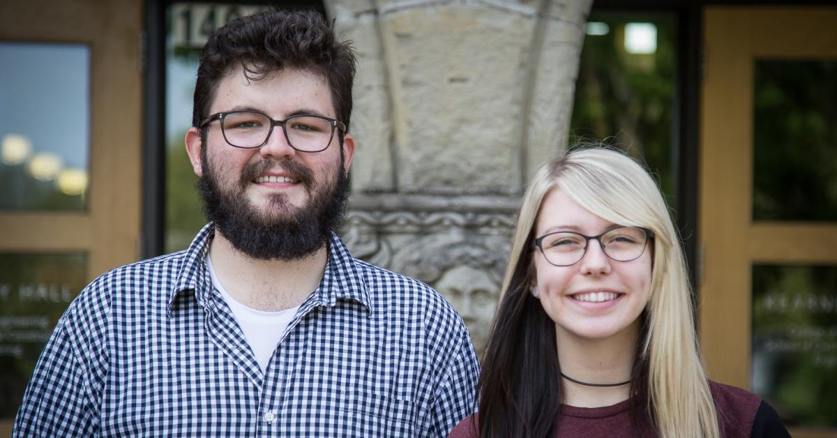 Gavin Bennett and Amy Salisbury, undergraduates in civil engineering, took on a senior design project to improve a village school and a plant nursery in Ethiopia.
